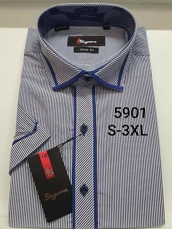 Рубашка с коротким рукавом  Sigmen 5901, фото 2