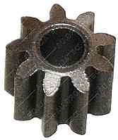 Шестерня двигателя шуруповерта d3х8 h7 9 зубов, фото 1