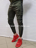 Мужские спортивные штаны Adidas Men Haki, фото 1