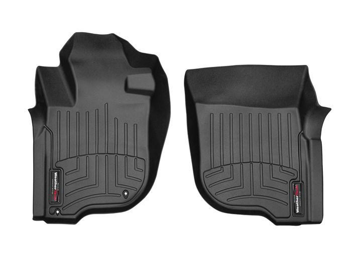 Ковры резиновые WeatherTech Mitsubishi L200 2019+ передние черные