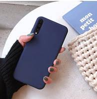 Чехол Silicone Case (силиконовый) для Huawei P30 Lite Epic синий (хуавей п30 лайт)