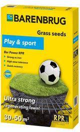 Газонная трава спортивная Sport and Play (Bar Power RPR) BARENBRUG Голландия1 кг