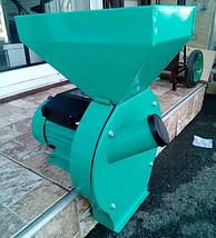 Зернодробилка, драч Master Kraft, мощность 2,8 кВт, бункер на 10 кг., фото 3