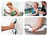 Пластиковая ручка поручень  для ванной комнаты на вакуумных присоска, фото 2