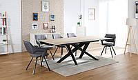 Стол керамический TML-810 вествуд+черный, фото 1