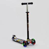 Детский самокат Best Scooter MAXI А 25460/779-1315 светятся колёса разные расцветки