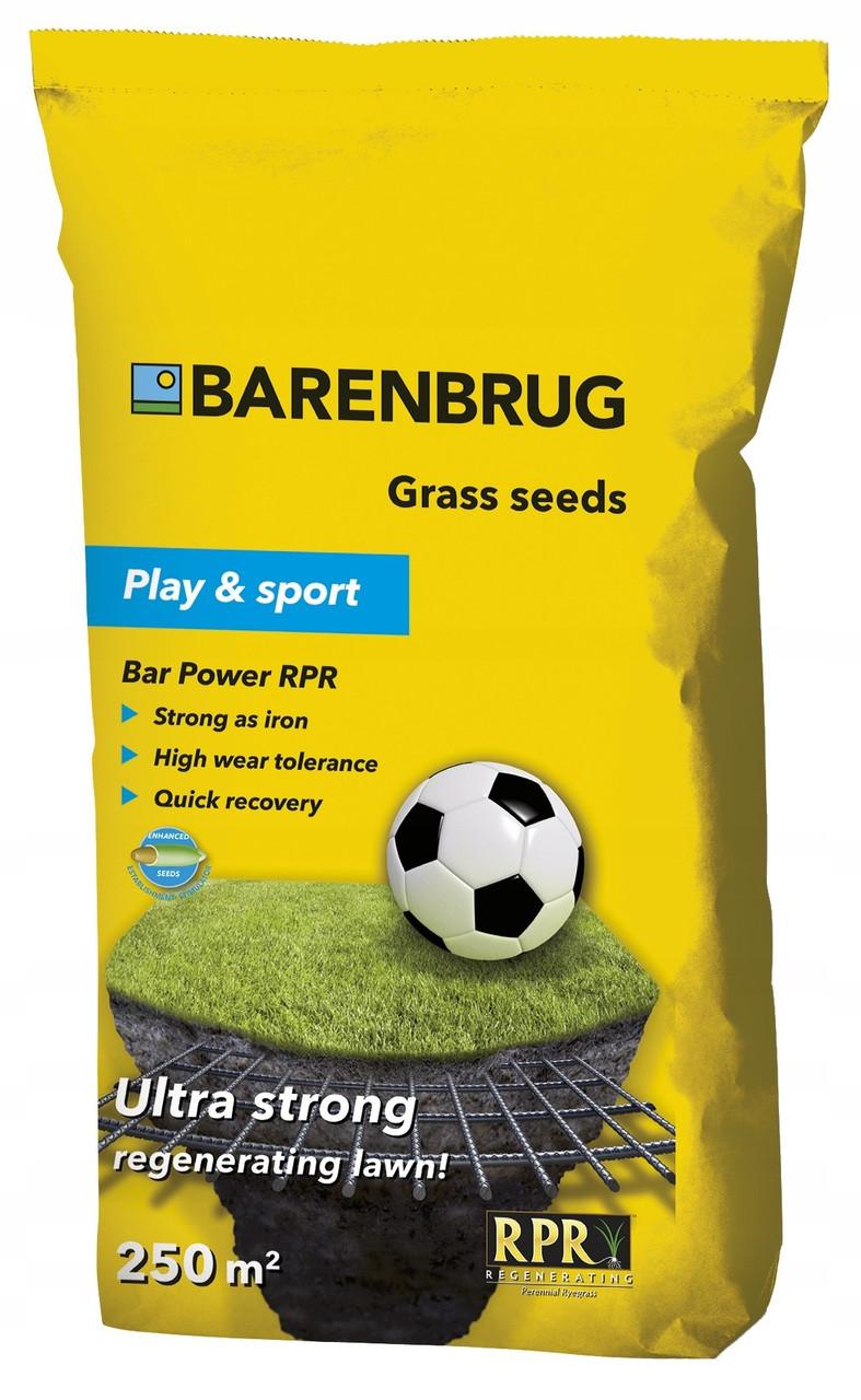 Газонна трава спортивна Sport and Play Bar Power RPR BARENBRUG Голландія 5кг