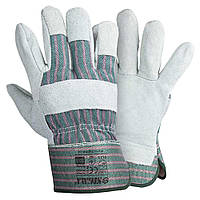 Перчатки комбинированные замшевые р10,5, класс АВ (цельная ладонь) Sigma (9448341)