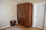 Мебельная ручка деревянная с гранями орех, фото 9