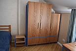Дизайнерская мебельная ручка деревянная с гранями орех, фото 10