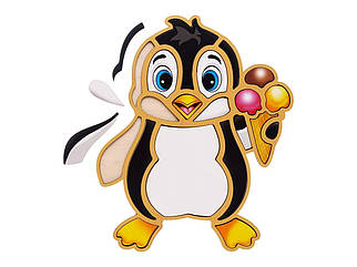 Контурный пазл: Пингвин