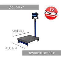 Весы товарные со стойкой 150ТВ1 (400*500)