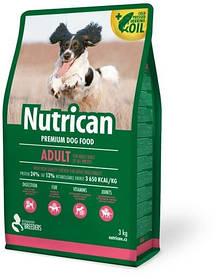 Nutrican Adult корм для взрослых собак всех пород, 3 кг