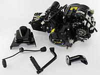 Двигатель мопед Дельта,Альфа -110см3 VIP Полуавтомат, фото 1
