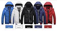 Теплая мужская зимняя куртка. Модель 6113, фото 10