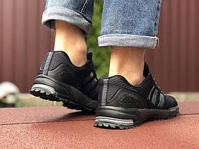 Кроссовки черные мужские летние текстиль, фото 2