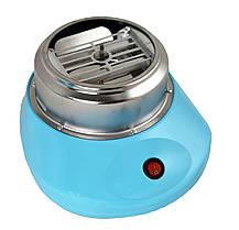 Аппарат для сладкой ваты Cotton Candy Maker + палочки в подарок Голубой, фото 3