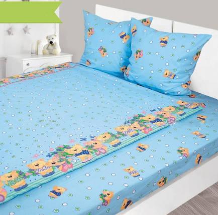 Детское постельное белье из бязи в кроватку ТМ Ярослав, фото 2