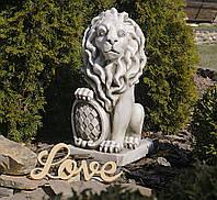 Садовая фигура для сада Лев 35.5×28.5×62.5cm
