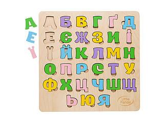 Деревянный сортер - Украинский алфавит