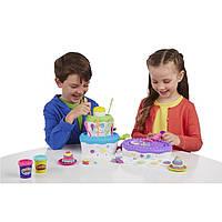 Пластилин Play-Doh (плей до) праздничный торт, фото 1