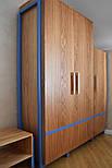 Дизайнерская мебельная ручка деревянная дуб орех клен ясень, фото 6
