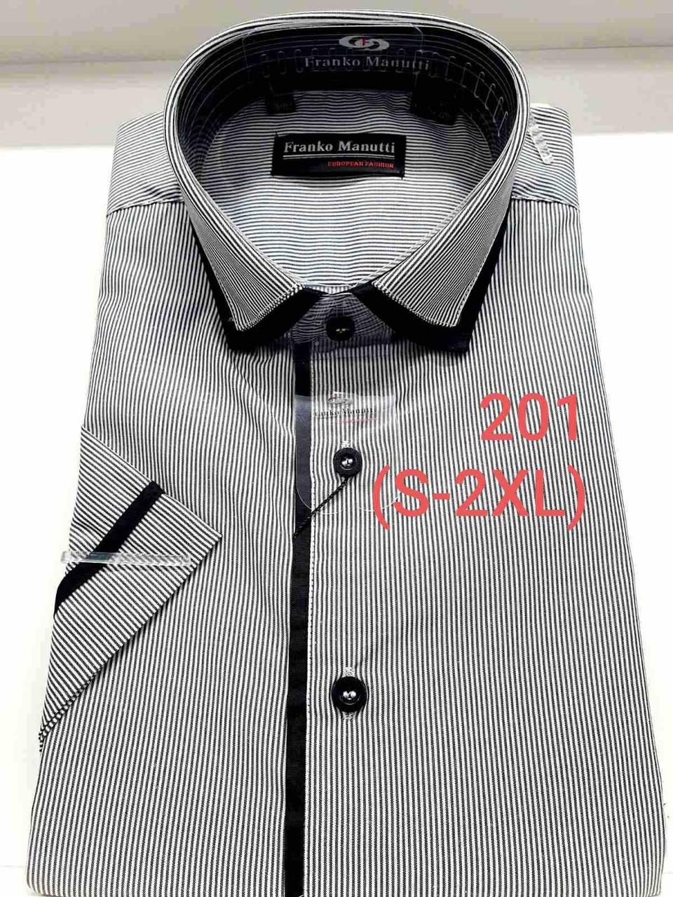 Рубашка с коротким рукавом  Franko Manutti 201