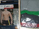 Трусы шорты боксеры Fuko Ub 7723 комплект 2шт XXXL серый темно серый, фото 2