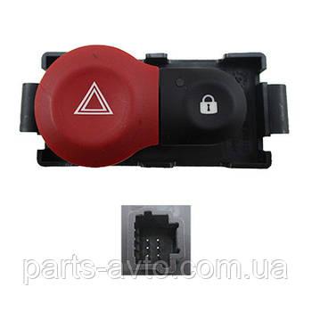 Кнопка аварийной сигнализации Renault Clio 3, Modus RENAULT 252103766R, 8200214896