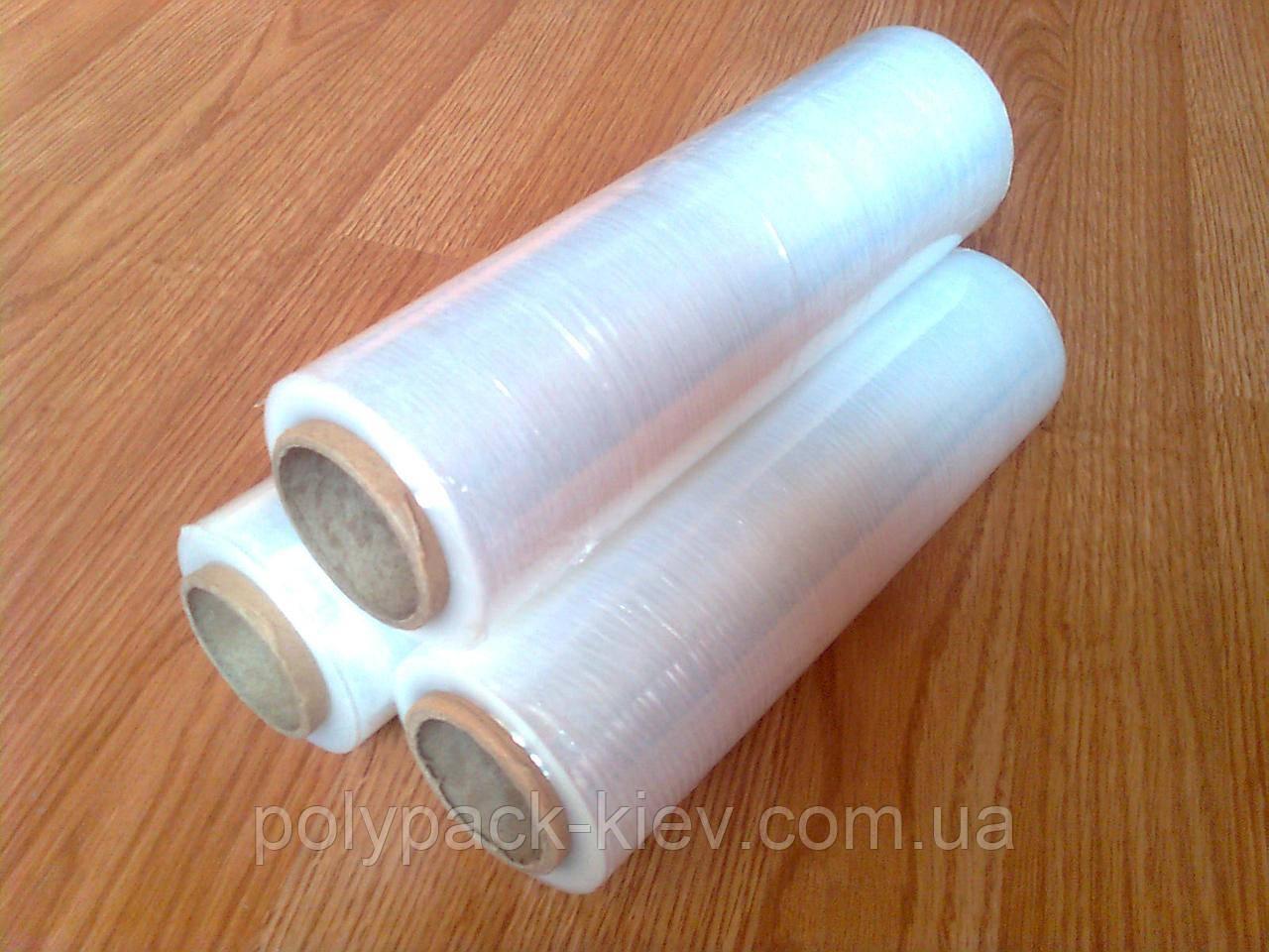 Стрейч пленка 17 мкм*250 мм*150 м прозрачная, упаковочная стрейч пленка, купить стрейч пленку Киев