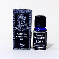 Ароматическое масло роза, natural essential oils Magic of india, Rose 10 мл