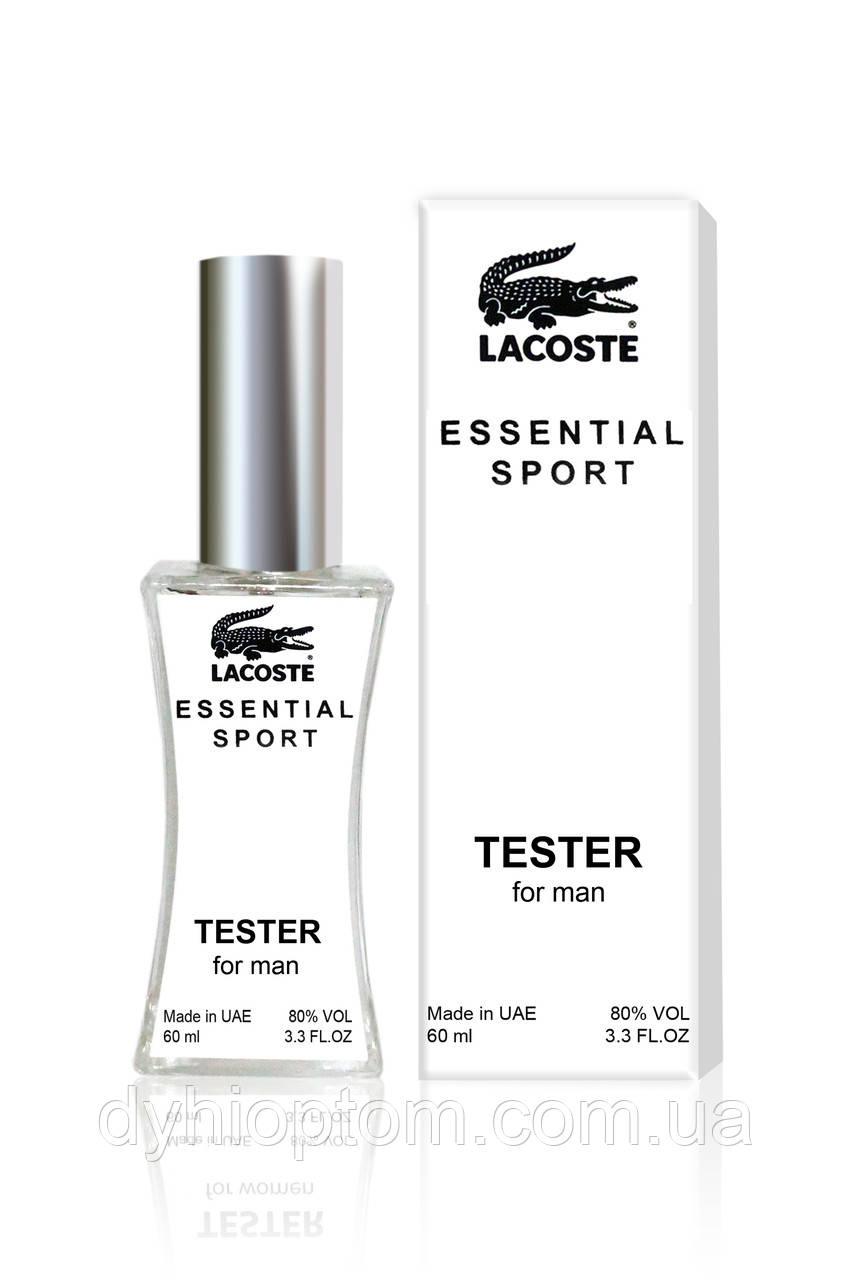 Тестер мужской Lacoste Essential sport, 60 мл.