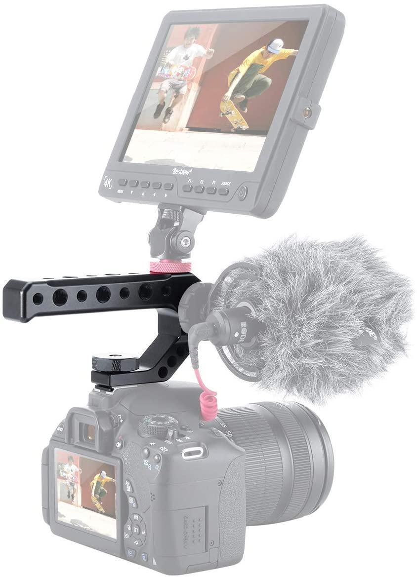 Рукоятка UURig R005 на горячий башмак фотоаппарата для установки дополнительных фотоаксессуаров.