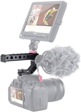 Рукоятка UURig R005 на горячий башмак фотоаппарата для установки дополнительных фотоаксессуаров., фото 2