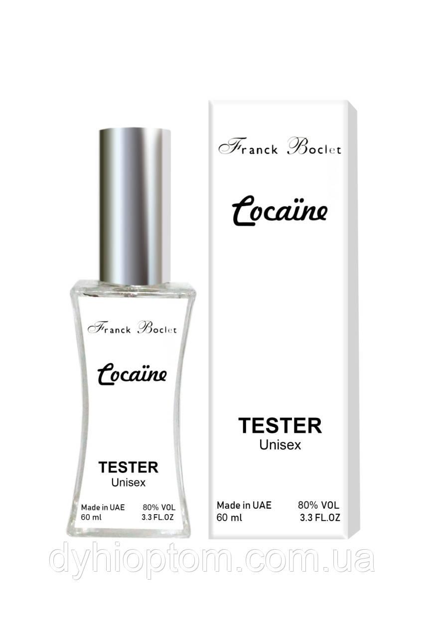 Тестер унисекс Franck Boclet Cocaine, 60 мл.