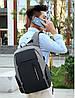 """Рюкзак Bobby 2.0 (Power Bank, LED часы и кодовый замок в подарок), 25 л, 15,6"""" городской - Фото"""