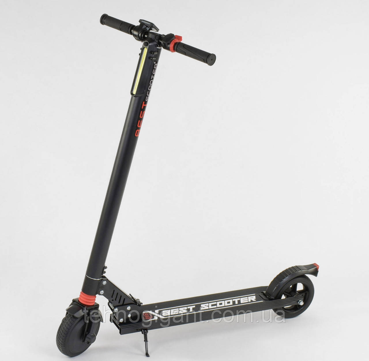 ЭЛЕКТРОСАМОКАТ Best Scooter 83325 Черный, 250W, макс. скорость 20 км/ч, пробег 15-20 км, версия с экраном