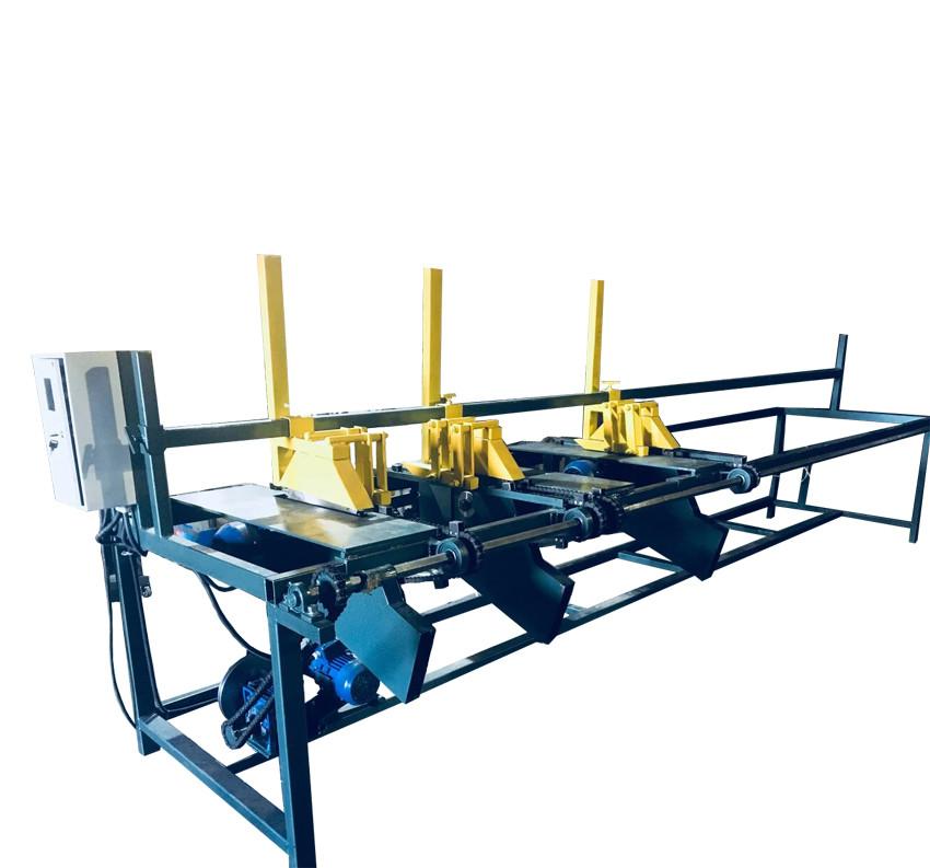Торцовочный станок (мультиторцовка) 4 пильных узла АТП-4-3-4