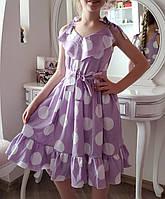 Модное  платье для девочки  код 938  лето , размеры на рост от 140 до 158 возраст от 9 лет и старше, фото 1