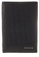 Стильная элитная кожаная обложка высокого качества LOUI VEARNER art.LOU82-2045A черного цвета, фото 1