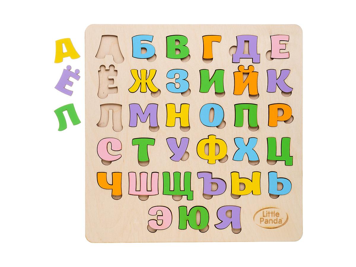 Деревянный сортер - Русский  алфавит