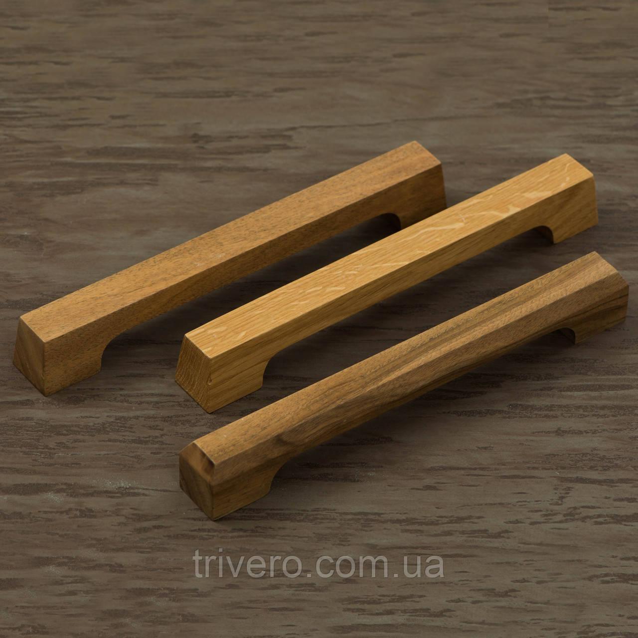 Ручка для мебели из дерева дуб орех клен ясень