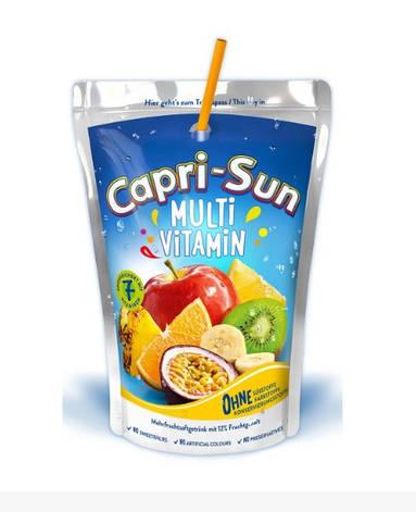 Сік Capri Sun, мультифрукт, 200мл, фото 2