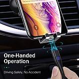 ROCK магнитный кабель usb type-c быстрая зарядка 3А для Android Samsung Xiaomi Цвет синий, фото 6