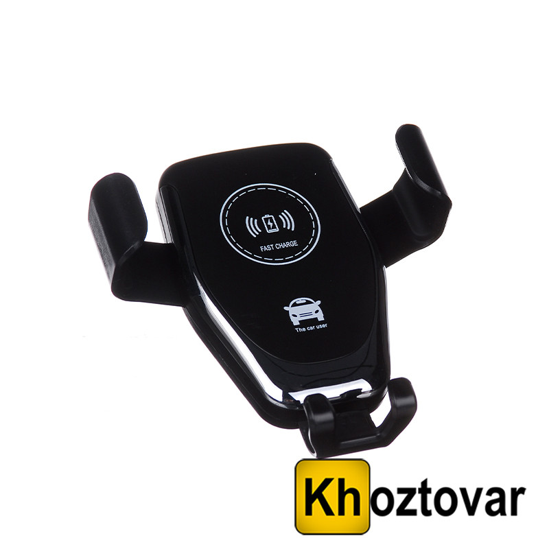 Тримач для смартфона з бездротовою зарядкою Holder WC1 HZ Wireless charger