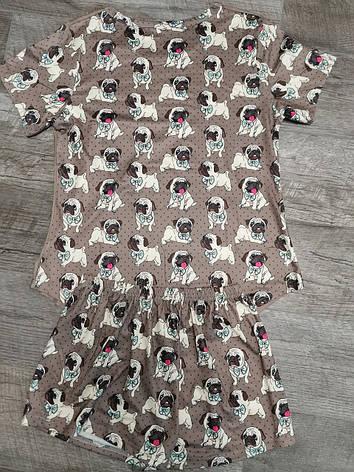 Молодежная пижама  женская 140-1, фото 2