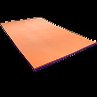 Мат гимнастический спортивный Verdani (толщина 20 мм 1500х1000 мм) Цветной