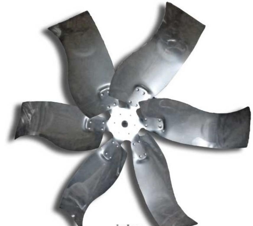 Крыльчатка в сборе для вентилятора EM50 // Munters // Big dutchman