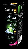 """Чай холодный зеленый в пирамидках с цитрусом Кертис (Curtis) """"Cold Tea with Citrus"""" 15 пирамидок"""
