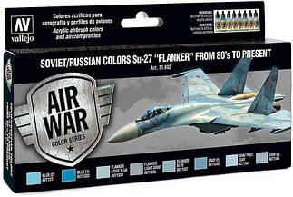Наборы красок для сборных моделей авиации